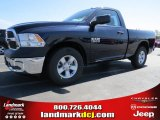 2014 True Blue Pearl Coat Ram 1500 Tradesman Regular Cab #92008423