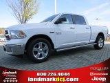 2014 Bright White Ram 1500 Big Horn Crew Cab 4x4 #92008422