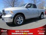 2014 Bright Silver Metallic Ram 1500 SLT Quad Cab #92008421