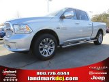 2014 Bright Silver Metallic Ram 1500 Laramie Limited Crew Cab #92008419