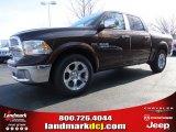 2014 Western Brown Ram 1500 Laramie Crew Cab #92008418