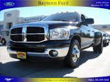 2007 Brilliant Black Crystal Pearl Dodge Ram 3500 ST Quad Cab Dually #895113