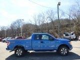 2014 Blue Flame Ford F150 STX SuperCab 4x4 #92008373