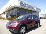 2012 Basque Red Pearl II Honda CR-V EX 4WD #92008484