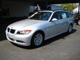 2007 Titanium Silver Metallic BMW 3 Series 328xi Wagon #9190248