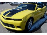 2014 Bright Yellow Chevrolet Camaro SS/RS Convertible #92008592