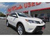2013 Blizzard White Pearl Toyota RAV4 Limited #92038573