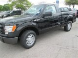 2014 Tuxedo Black Ford F150 XL Regular Cab #92038544