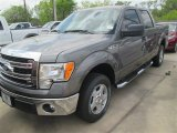 2014 Sterling Grey Ford F150 XLT SuperCrew #92038540