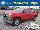 2014 Victory Red Chevrolet Silverado 1500 WT Double Cab 4x4 #92038943