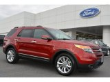 2014 Ruby Red Ford Explorer Limited #92038718