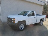 2014 Summit White Chevrolet Silverado 1500 WT Regular Cab 4x4 #92038621