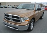 2012 Saddle Brown Pearl Dodge Ram 1500 SLT Quad Cab #92039064
