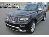 2014 Brilliant Black Crystal Pearl Jeep Grand Cherokee Summit 4x4 #92039058