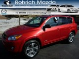 2011 Barcelona Red Metallic Toyota RAV4 Sport 4WD #92038612