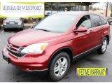 2011 Tango Red Pearl Honda CR-V EX-L 4WD #92088747