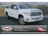 2014 Super White Toyota Tundra Platinum Crewmax 4x4 #92088617