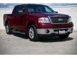 2006 Dark Toreador Red Metallic Ford F150 Lariat SuperCrew #92088898