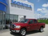 2006 Inferno Red Crystal Pearl Dodge Ram 1500 Big Horn Edition Quad Cab 4x4 #9191891