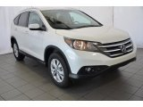 2014 White Diamond Pearl Honda CR-V EX-L #92088668