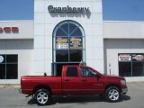2006 Inferno Red Crystal Pearl Dodge Ram 1500 SLT Quad Cab 4x4 #9190975