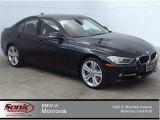 2014 Jet Black BMW 3 Series 335i Sedan #92138474