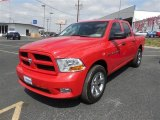 2012 Flame Red Dodge Ram 1500 Express Crew Cab #92138134