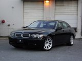 Black Sapphire Metallic BMW 7 Series in 2003