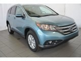 2014 Mountain Air Metallic Honda CR-V EX-L #92138028