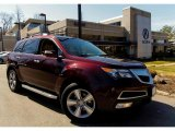 2011 Dark Cherry Pearl Acura MDX Technology #92138225