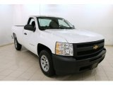 2013 Summit White Chevrolet Silverado 1500 LS Regular Cab #92138652