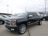 2014 Black Chevrolet Silverado 1500 High Country Crew Cab 4x4 #92138318