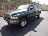 2001 Forest Green Pearl Dodge Ram 1500 ST Club Cab 4x4 #92138737