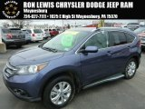 2012 Twilight Blue Metallic Honda CR-V EX-L 4WD #92138416