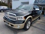 2014 Black Ram 1500 Laramie Longhorn Crew Cab 4x4 #92138632