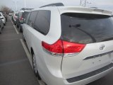 2011 Blizzard White Pearl Toyota Sienna Limited AWD #92138001