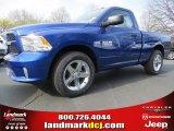 2014 Blue Streak Pearl Coat Ram 1500 Express Regular Cab #92138281