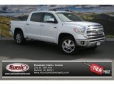 2014 Super White Toyota Tundra 1794 Edition Crewmax 4x4 #92137995