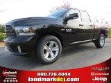 2014 Black Ram 1500 Sport Quad Cab #92138276