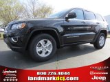 2014 Brilliant Black Crystal Pearl Jeep Grand Cherokee Laredo #92138275