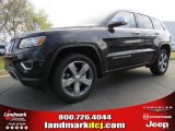 2014 Brilliant Black Crystal Pearl Jeep Grand Cherokee Limited #92138273