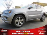 2014 Billet Silver Metallic Jeep Grand Cherokee Overland #92138272
