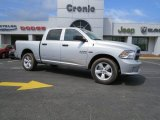 2014 Bright Silver Metallic Ram 1500 Express Crew Cab 4x4 #92138373