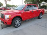 2014 Race Red Ford F150 STX SuperCrew #92194314