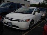 2007 Taffeta White Honda Civic LX Sedan #9196349