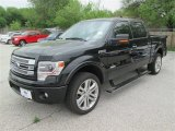2014 Tuxedo Black Ford F150 Limited SuperCrew 4x4 #92194303