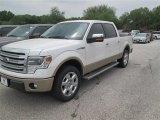 2014 White Platinum Ford F150 Lariat SuperCrew #92194300