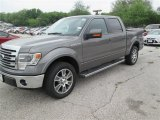 2014 Sterling Grey Ford F150 Lariat SuperCrew #92194299