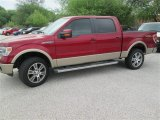 2014 Ruby Red Ford F150 Lariat SuperCrew 4x4 #92194296
