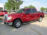 2014 Ruby Red Ford F150 XLT SuperCrew #92194294